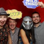 Just having fun! In our photo booth at a birthday party at the Monkey Suite, Exeter