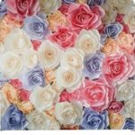 Our flower fabric backdrop