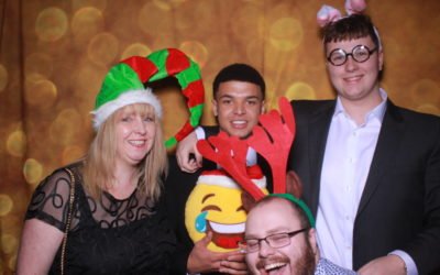 Lloyds Christmas party 2019, held at the West Cliff Hotel, Bournemouth
